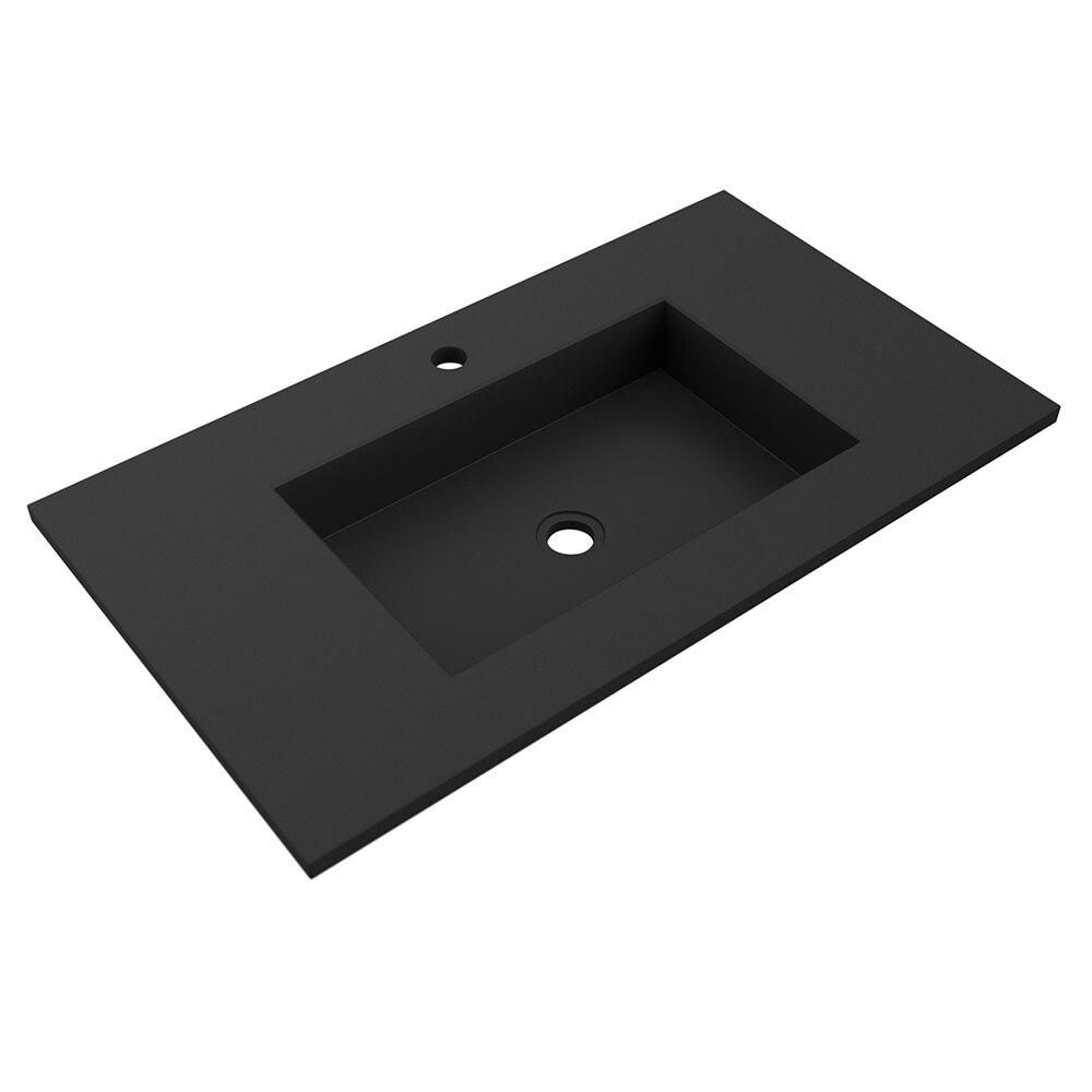 lavabo encimera cristal lavabo de bao serie compacto microplus ref leroy merlin