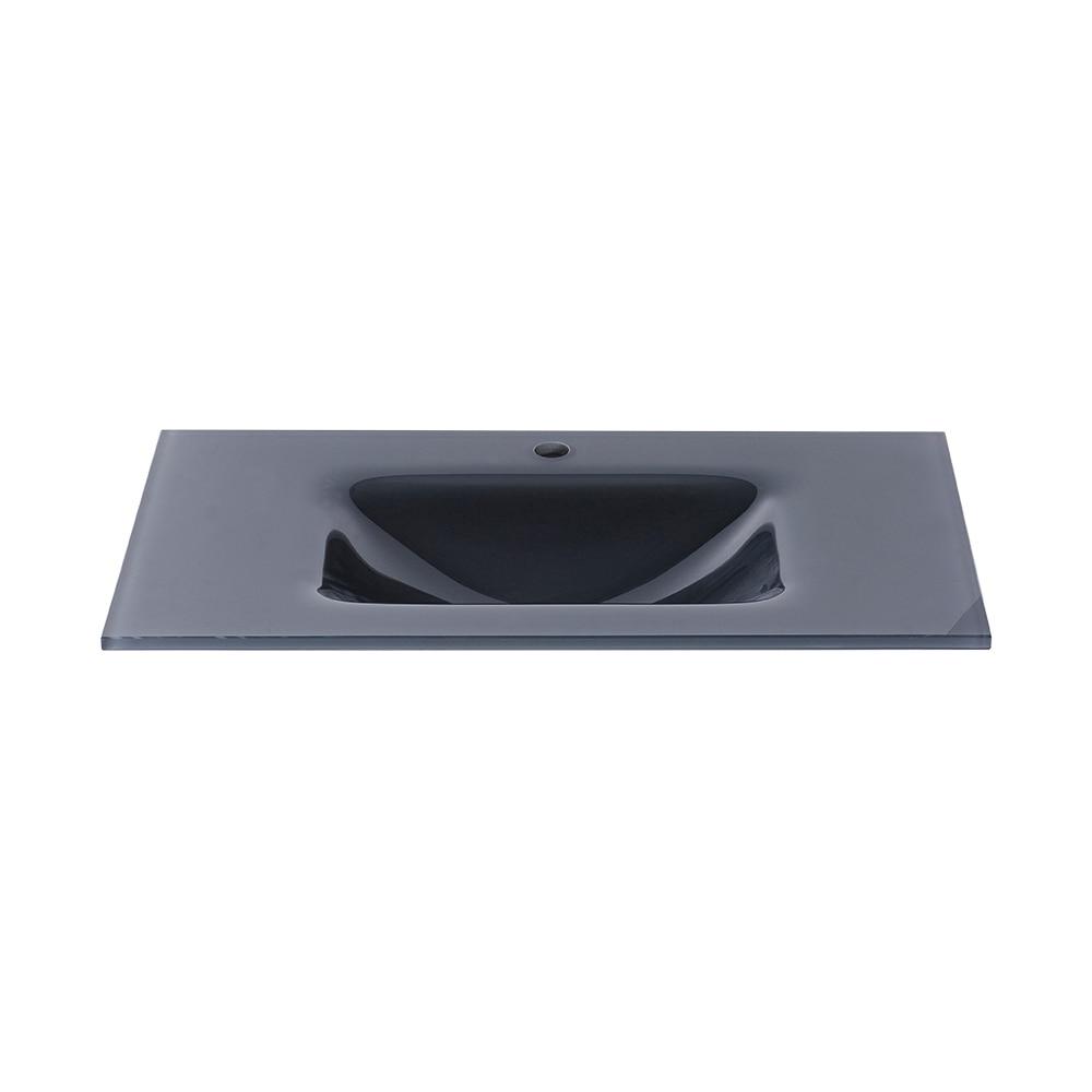 Lavabos Para Baños Cristal:Lavabo de baño SERIE CRISTAL OPTICO Ref 16735635 – Leroy Merlin