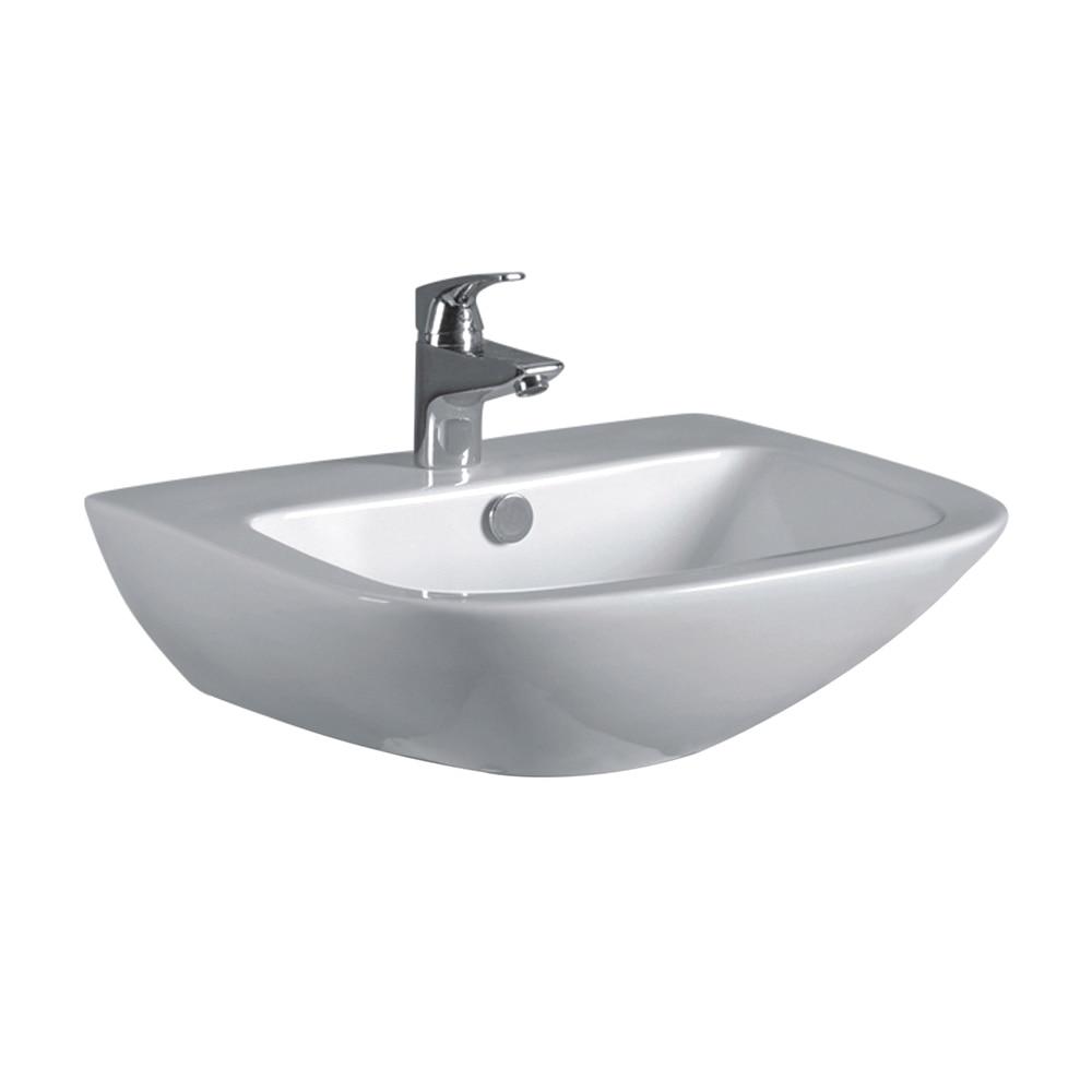 lavabo de ba o sensea serie new rodas ref 16763054 leroy merlin. Black Bedroom Furniture Sets. Home Design Ideas