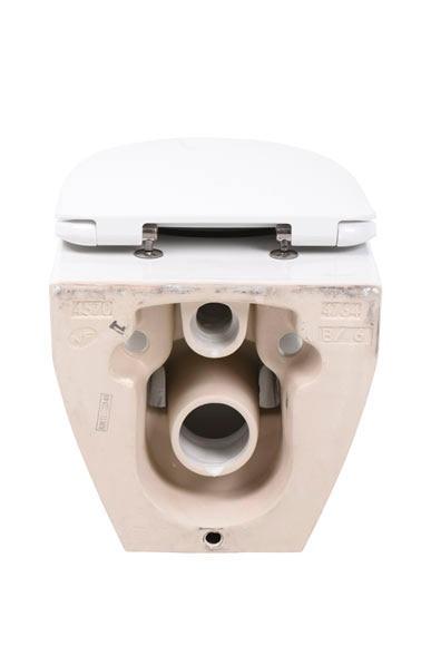Pack inodoro con salida horizontal jacob delafon avior for Como instalar un inodoro con salida vertical