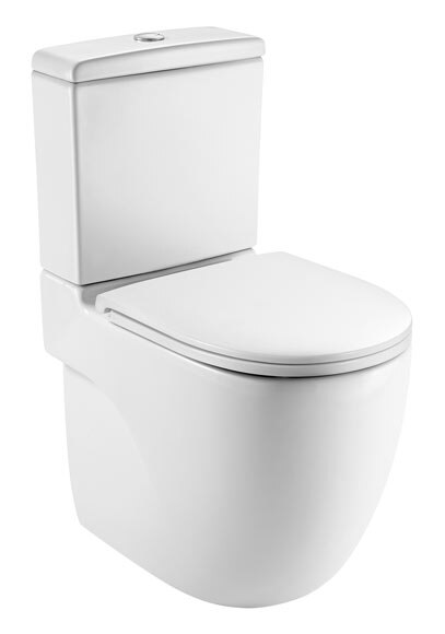 Taza de vater elegant inodoro roca hall blanco completo - Retrete leroy merlin ...