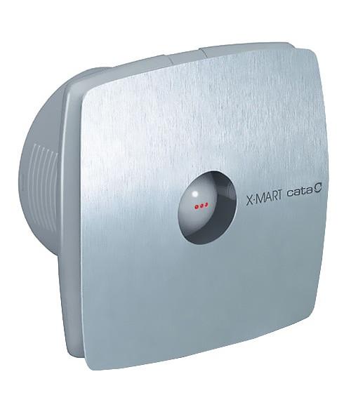 Extractores De Baño Para Falso Techo:Extractor de baño CATA X-MART 100 MATIC INOX Ref 12234243 – Leroy