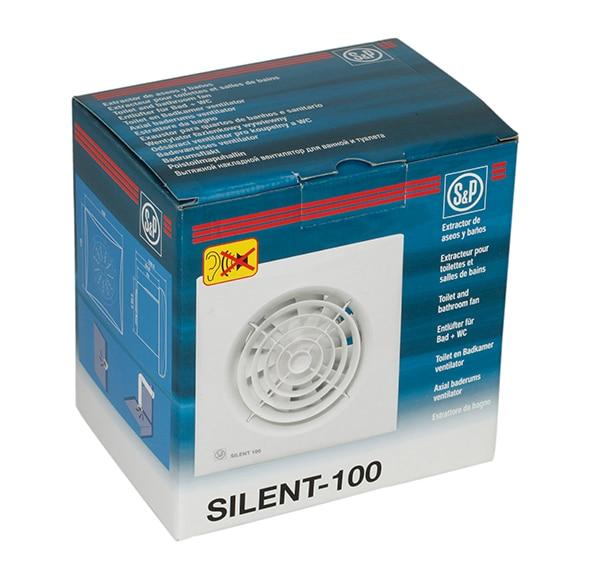 Extractor de ba o s p silent c100 cz ref 13647305 leroy - Colocar extractor bano ...