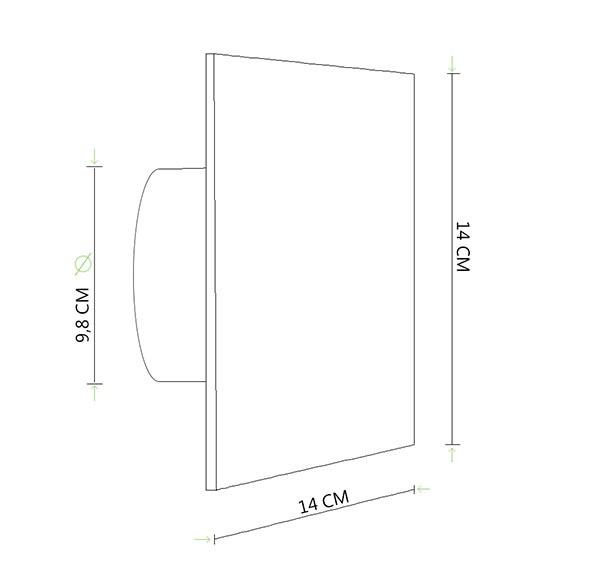 Extractor De Humedad Baño:Extractor de baño Equation SILENTIS 100 HIGROSTATO Ref 14171780