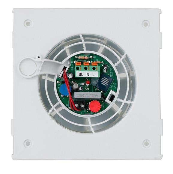 Extractor Baño Falso Techo:Extractor de baño Equation SILENTIS 100 HIGROSTATO Ref 14171780