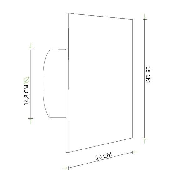 Extractor Baño Falso Techo:Extractor de baño Equation SILENTIS 150 TIMER Ref 14171836 – Leroy
