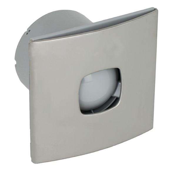 Extractores De Baño Para Falso Techo:Extractor de baño Equation SILENTIS 120 STANDARD INOX Ref 14171885