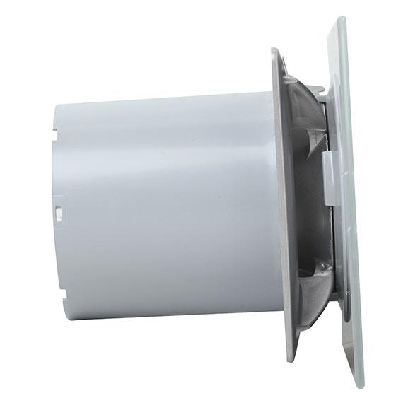 Extractor de ba o cata glass timer e 100 gst ref 16981006 for Temporizador leroy merlin