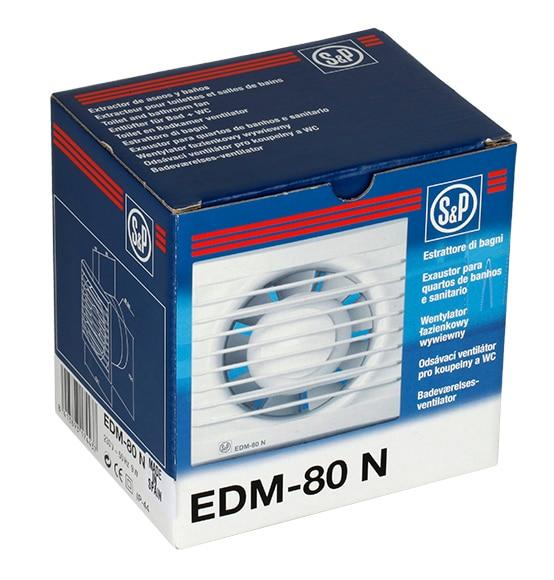 Extractor De Baño Potencia:Extractor de baño S&P EDM-80N Ref 91462 – Leroy Merlin