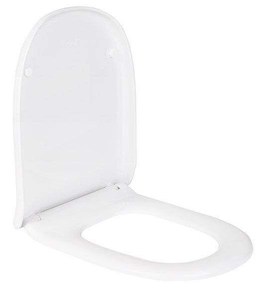 Tapa de wc compatible dama retro blanco ref 16627380 - Tapas de wc leroy merlin ...