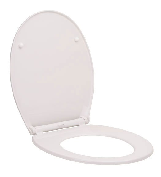 Tapa de wc uno blanca ref 17877811 leroy merlin for Tapa wc leroy merlin