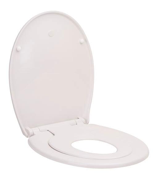Tapa de wc family blanca ref 17877825 leroy merlin - Tapas de wc leroy merlin ...