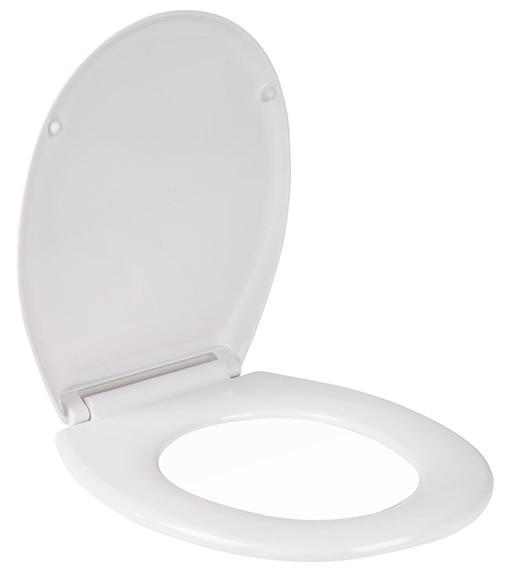 Tapa de wc sensea duroplast nieve ref 18723565 leroy merlin - Tapas de wc leroy merlin ...