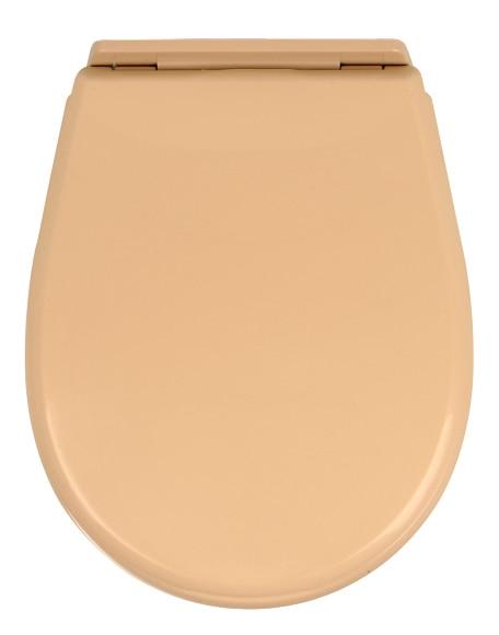 Tapa de wc olympia beige ref 484813 leroy merlin for Tapas wc leroy merlin