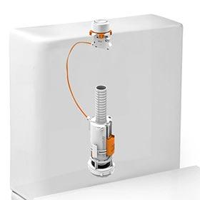 Mecanismos de cisterna de wc leroy merlin for Cisternas wc precios