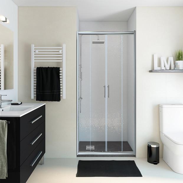 Mamparas de ducha frontales leroy merlin - Mamparas frontales de ducha ...