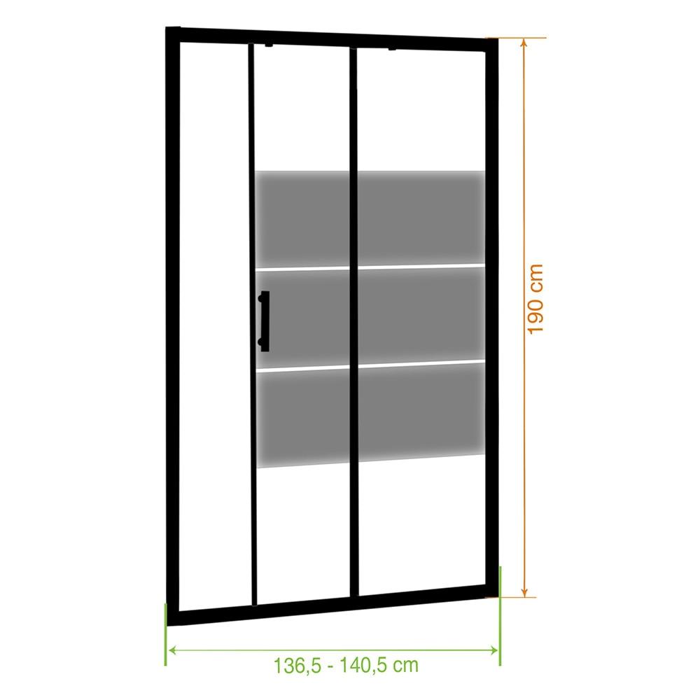 mampara de ducha serie optima f bl sg ref 14898492 leroy merlin. Black Bedroom Furniture Sets. Home Design Ideas