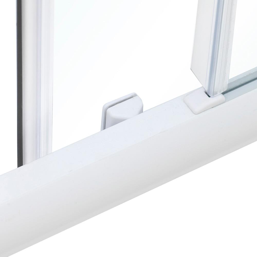 mampara de ducha sensea optima ii rectangular blanca ref 14090650 leroy merlin. Black Bedroom Furniture Sets. Home Design Ideas