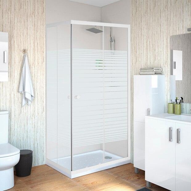 Mamparas de ducha para platos rectangulares leroy merlin - Mamparas de duchas ...