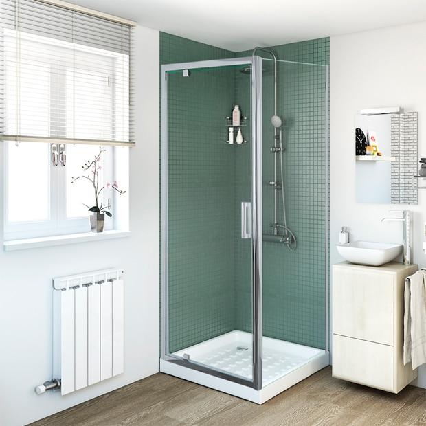 Mamparas de ducha para platos cuadrados leroy merlin for Mamparas de ducha 70x70