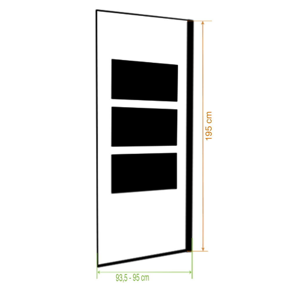 Mampara de ducha sensea panel ducha solar abatible espejo - Ducha exterior leroy merlin ...