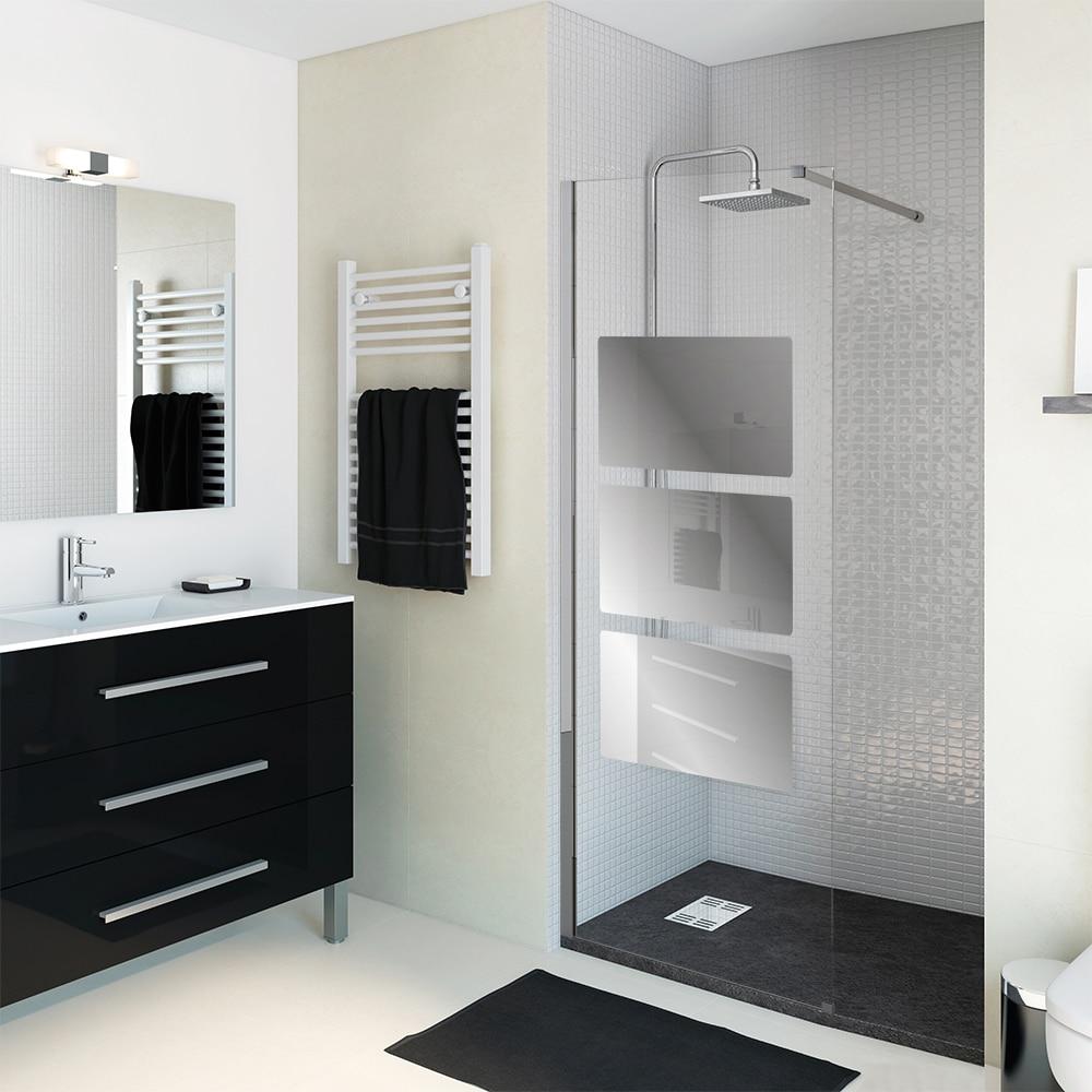 Mampara de ducha sensea panel ducha solar espejo ref for Espejo afeitado ducha