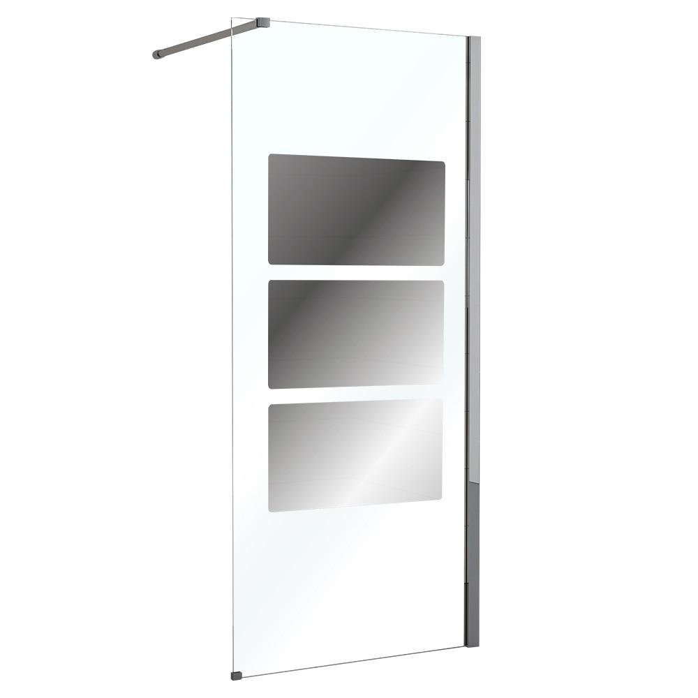 Mampara de ducha sensea panel ducha solar espejo ref - Espejo para ducha ...