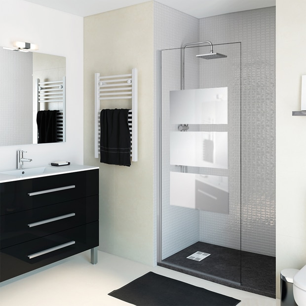 Mamparas de ducha para platos cuadrados leroy merlin for Duchas modernas 2018
