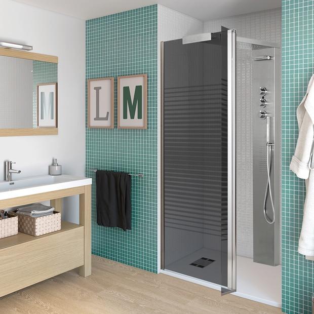 Paneles de ducha para espacios abiertos leroy merlin for Paneles decorativos leroy merlin