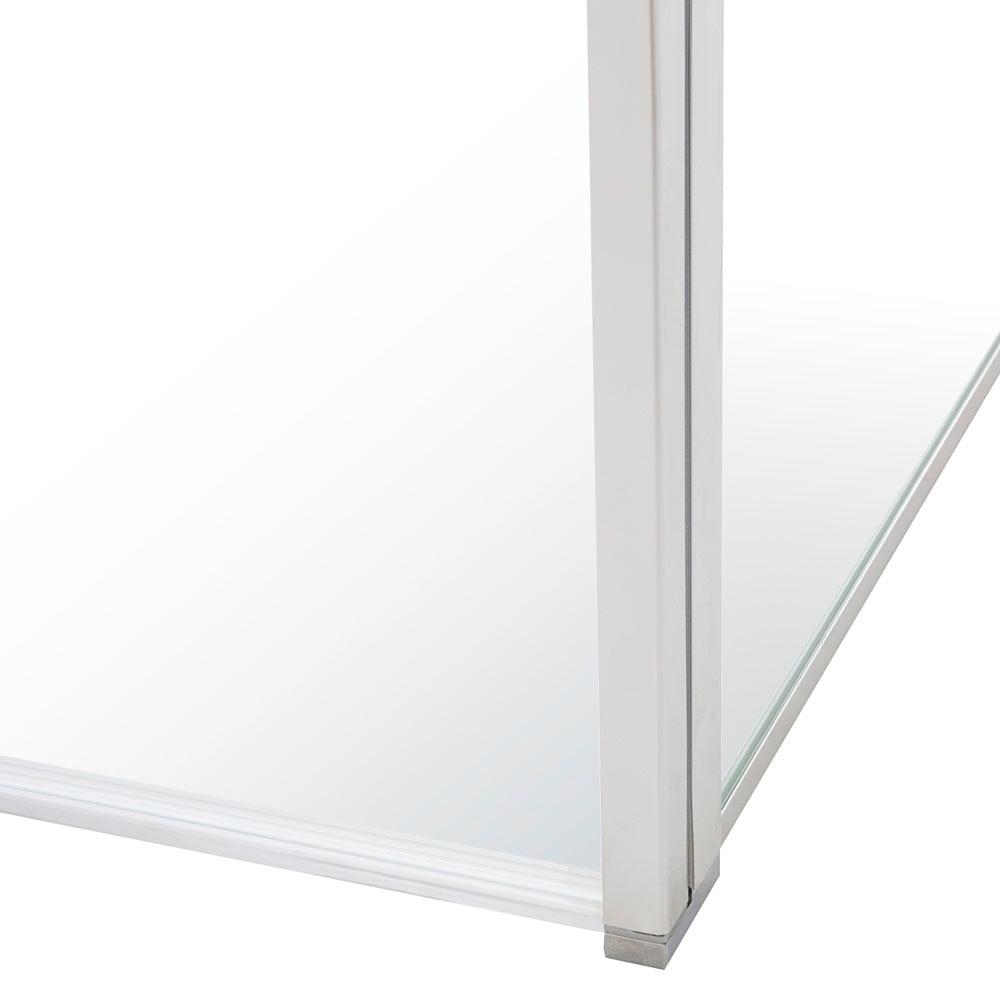 Panel ducha cube transparente cromo leroy merlin for Cube leroy merlin