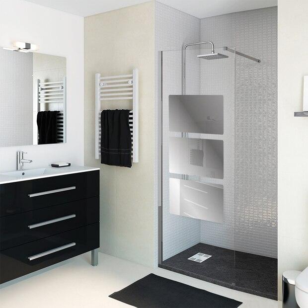 Paneles de ducha para espacios abiertos leroy merlin for Espejo ducha