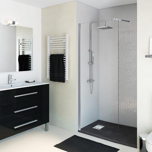 Paneles de ducha para espacios abiertos leroy merlin - Mamparas leroy merlin ...
