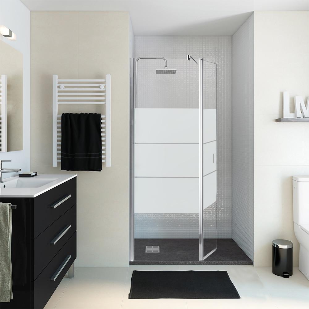 mampara de ducha panel ducha zen 2 hojas ref 16249996