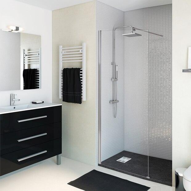 Puertas Para Baño Cr:open cr tp ref serie open cr tp panel de ducha de una hoja fija de