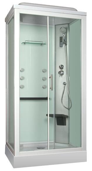 Cabina de hidromasaje quinoa hidromasaje ref 16673391 - Cabina de duchas ...