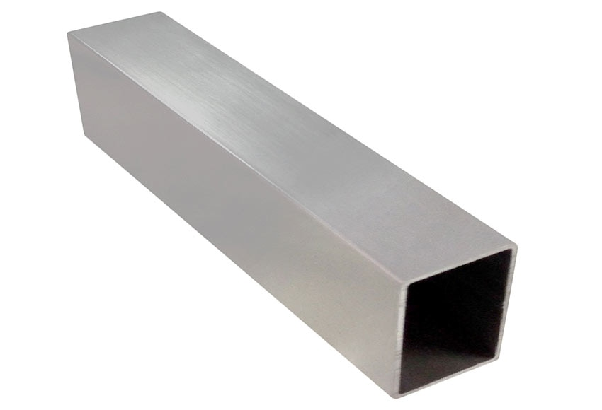 Perfil de mampara cuadrado color plata ref 15745072 - Perfil cuadrado aluminio ...