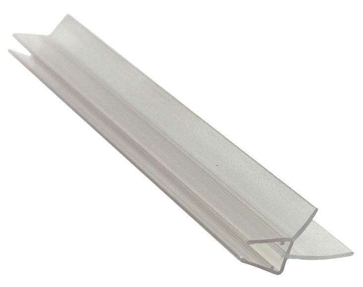 perfil de mampara vierteaguas l cristal 6 8 100 cm ref