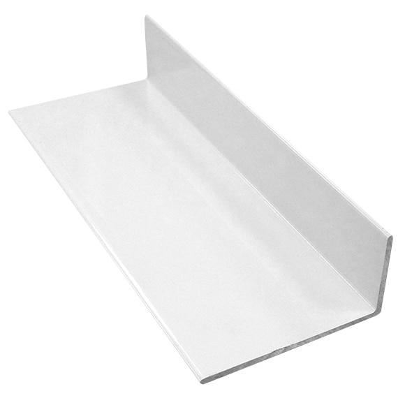 Perfil de mampara pfl angular color blanco ref 15914773 for Perfil vierteaguas mampara