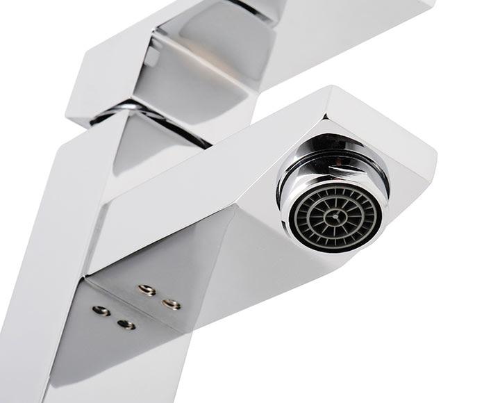 Grifo de lavabo arte cristal ref 15012214 leroy merlin - Grifos de cristal ...