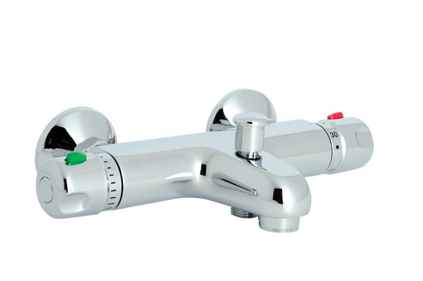 Grifo termost tico de ba era sensea slimo ref 15014965 for Grifo termostatico ducha leroy merlin