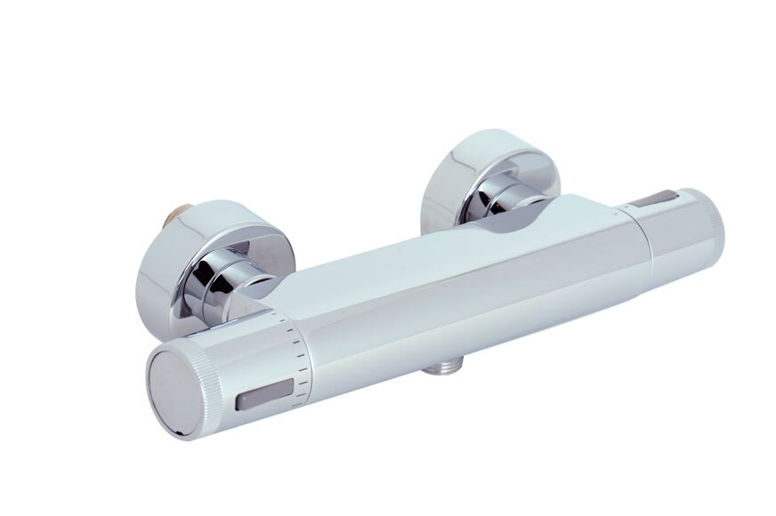 Grifo termost tico de ducha sensea siryo ref 15014993 for Grifo termostatico ducha leroy merlin