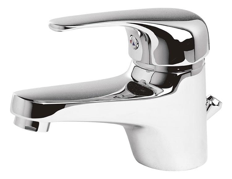 Grifo de lavabo sensea balaton ref 16782766 leroy merlin - Grifos para bano ...