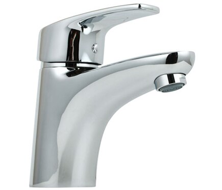 Grifo de lavabo sensea nelsa ref 16783032 leroy merlin - Grifos de lavabo leroy merlin ...