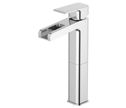 Grifo de ca o alto para lavabo sensea ryo cascada ref for Grifo lavabo cascada