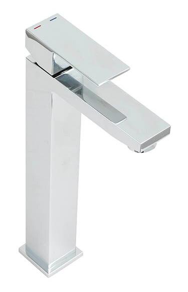Grifo de lavabo de ca o alto sensea tely ref 16785902 - Grifos de lavabo cano alto ...