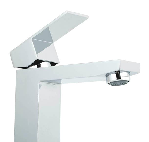 Grifo de lavabo de ca o alto sensea tely ref 16785902 leroy merlin - Grifo lavabo cano alto leroy ...