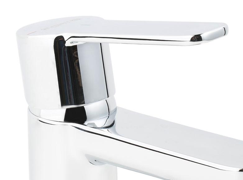 Grifo de lavabo fortis portifino cromo ref 19304054 leroy merlin - Grifos de lavabo leroy merlin ...