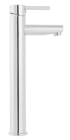 Grifo de lavabo sensea hilo ca o alto ref 19496890 leroy merlin - Grifo lavabo cano alto leroy ...