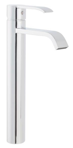 Grifo de lavabo sensea hao ca o alto ref 19496981 leroy merlin - Grifo lavabo cano alto leroy ...