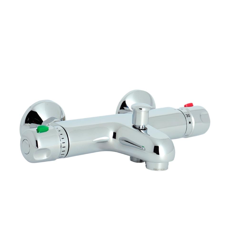 Grifo de ba o sensea slimo ref 15014965 leroy merlin for Grifos de ducha termostaticos